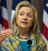 """Clinton advierte sobre """"guerra por el agua"""" en las próximas décadas"""