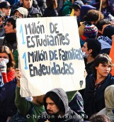 Nota argentina sobre el conflicto estudiantil en Chile