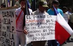 Caimanes: Denuncian alianza Bachelet-Luksic y piden sacar a Aleuy en carta a La Moneda