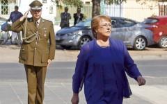 La Moneda censura correos electrónicos sobre edecán de Bachelet