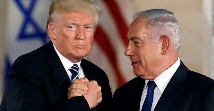 Resultado de imagen para trump y netanyahu