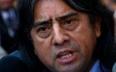 Líder mapuche Aucan Huilcaman critica nombramiento de Bachelet en la ONU