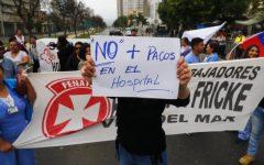 Colegio Médico repudia disparo de balines y lacrimógenas a Hospital Gustavo Fricke